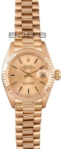 Ladies Rolex President Watch Model 6917