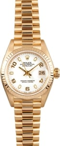 Ladies Gold Rolex Datejust 69178