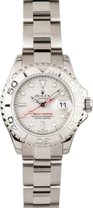 Unworn Rolex Yachtmaster Ladies 169622 stainless steel