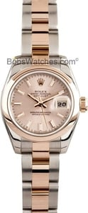 Ladies Rose Gold Datejust 179161
