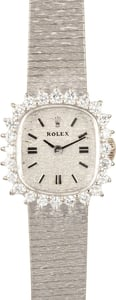 Ladies Rolex Diamond Cocktail Watch