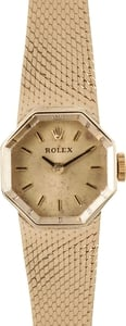 14K Ladies Rolex Cocktail Watch