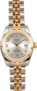 Pre Owned Rolex Ladies Datejust Steel and Gold 179173