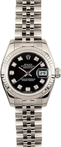 Used Ladies Rolex Oyster Perpetual 179174