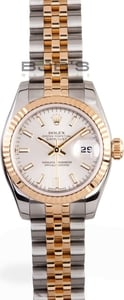 Ladies Used Rolex Oyster Perpetual Stainless and Gold Watch 179173