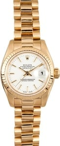 Rolex Ladies President Gold Model 179178
