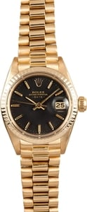 Pre Owned Rolex Ladies President Watch 6917