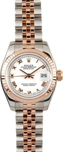 Rolex Rose Gold Datejust 179171