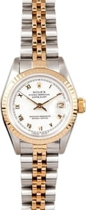 Rolex Ladies Two Tone Datejust 69173