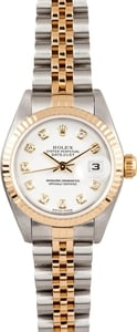 Rolex Ladies DateJust Diamond 79173 1