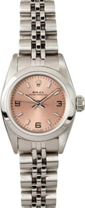 Rolex Ladies Oyster Perpetual Steel