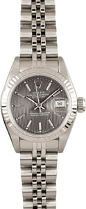 Lady Rolex Datejust Steel