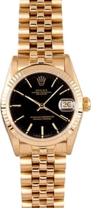 18K Rolex Gold Midsize Watch 68278