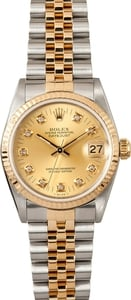 MidSize Rolex Datejust 68273