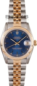 Used Rolex Datejust Midsize Watch 68273