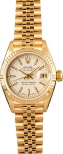 Rolex Ladies Datejust 69178 Jubilee Bracelet