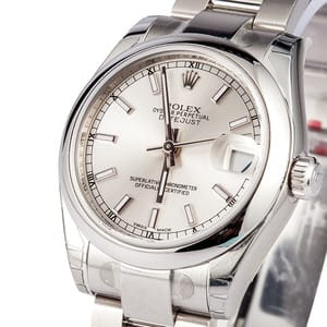 Used Rolex DateJust Mid Size Model 178240