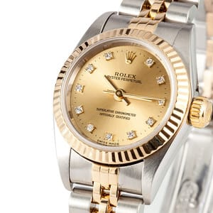 Ladies Diamond Rolex 67193