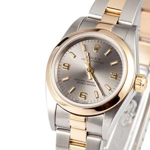 Ladies Rolex Oyster Perpetual Two Toned 76183