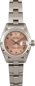 Ladies Rolex Datejust 79174 Salmon