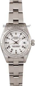 Pre-Owned Ladies Rolex Date Oyster Perpetual Steel 69190