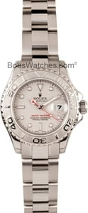 Rolex Ladies Yachtmaster 169622 stainless & platinum