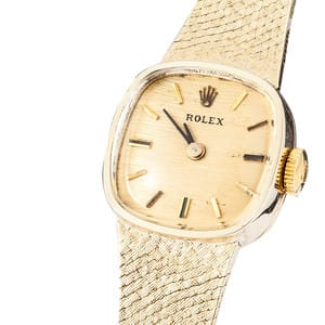 Lady Rolex Gold Cocktail Watch