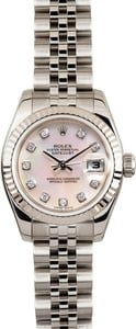 Rolex Datejust MOP Diamond Dial 179174