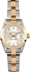 Lady Rolex Datejust 79163 Diamond Dial