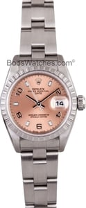 Ladies Rolex Date 79190 Stainless Steel with Oyster Bracelet