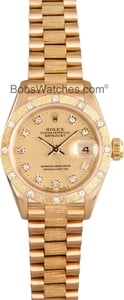 Pre-Owned Rolex Ladies President Watch 69288