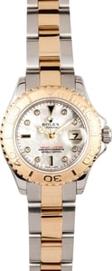Ladies Rolex Yachtmaster 18k Gold & Steel 169623