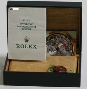 Ladies Two Tone Rolex Datejust 69173 3