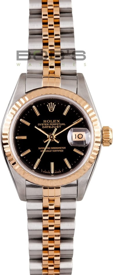 Ladies Rolex Datejust 69173 3