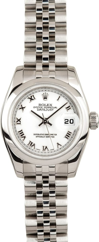 Rolex Ladies DateJust Stainless Steel 179160