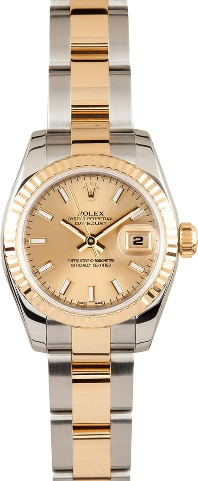New Model Ladies Rolex Datejust 179173