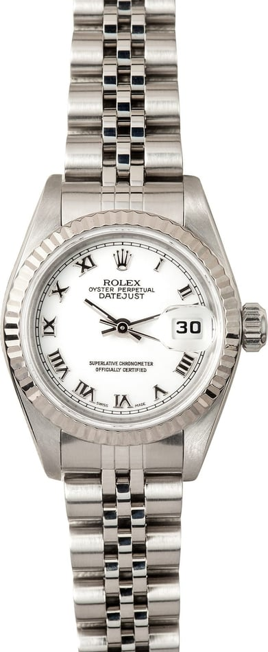 Used Lady Rolex Oyster Perpetual DateJust 79174