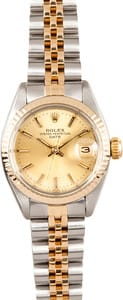 Ladies Rolex Date Oyster Perpetual Steel 6917, Used