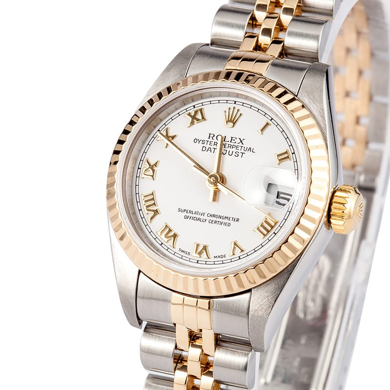 Used Ladies Rolex Oyster Perpetual Datejust Watch 79173 ...