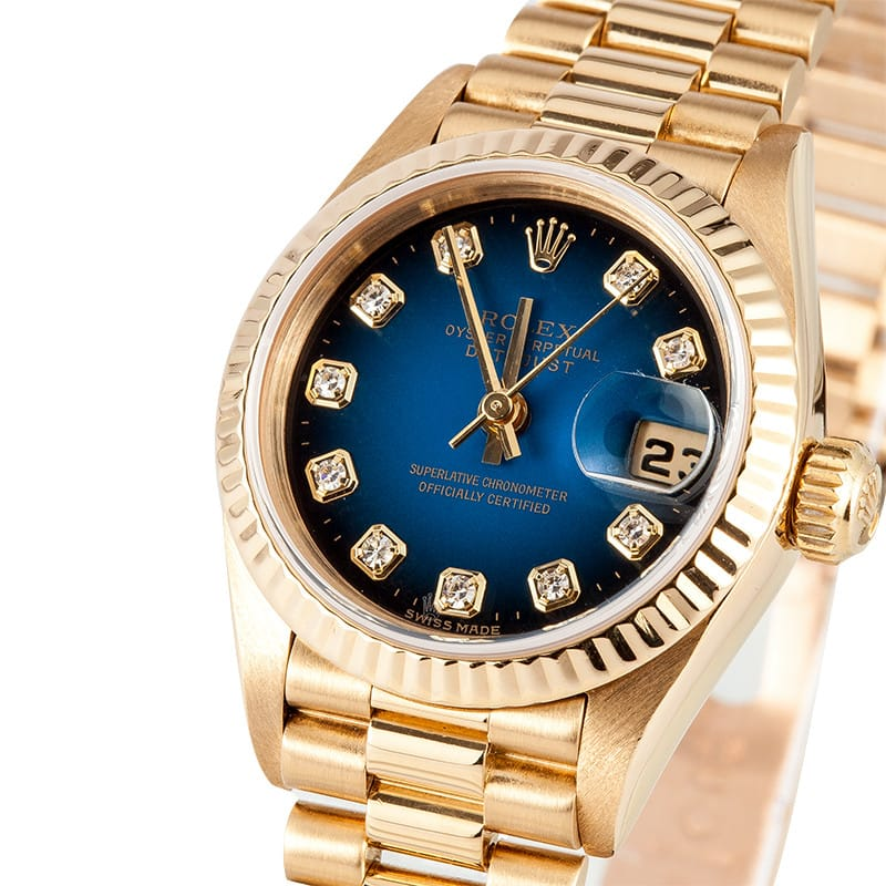 031810a15 Lady Rolex 18K Datejust Diamond Dial - Get the Best Price