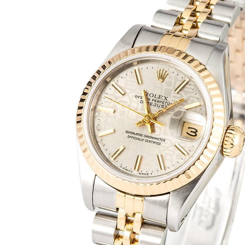 pre owned rolex datejust 69173