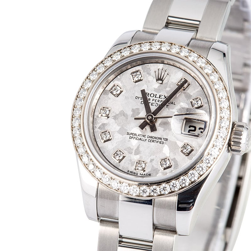 a9d603cbdcde5 Ladies Datejust 179384 Diamond Bezel