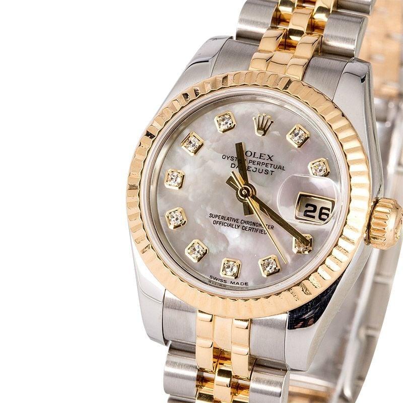 Used Ladies Rolex Datejust Watch 179173 ...