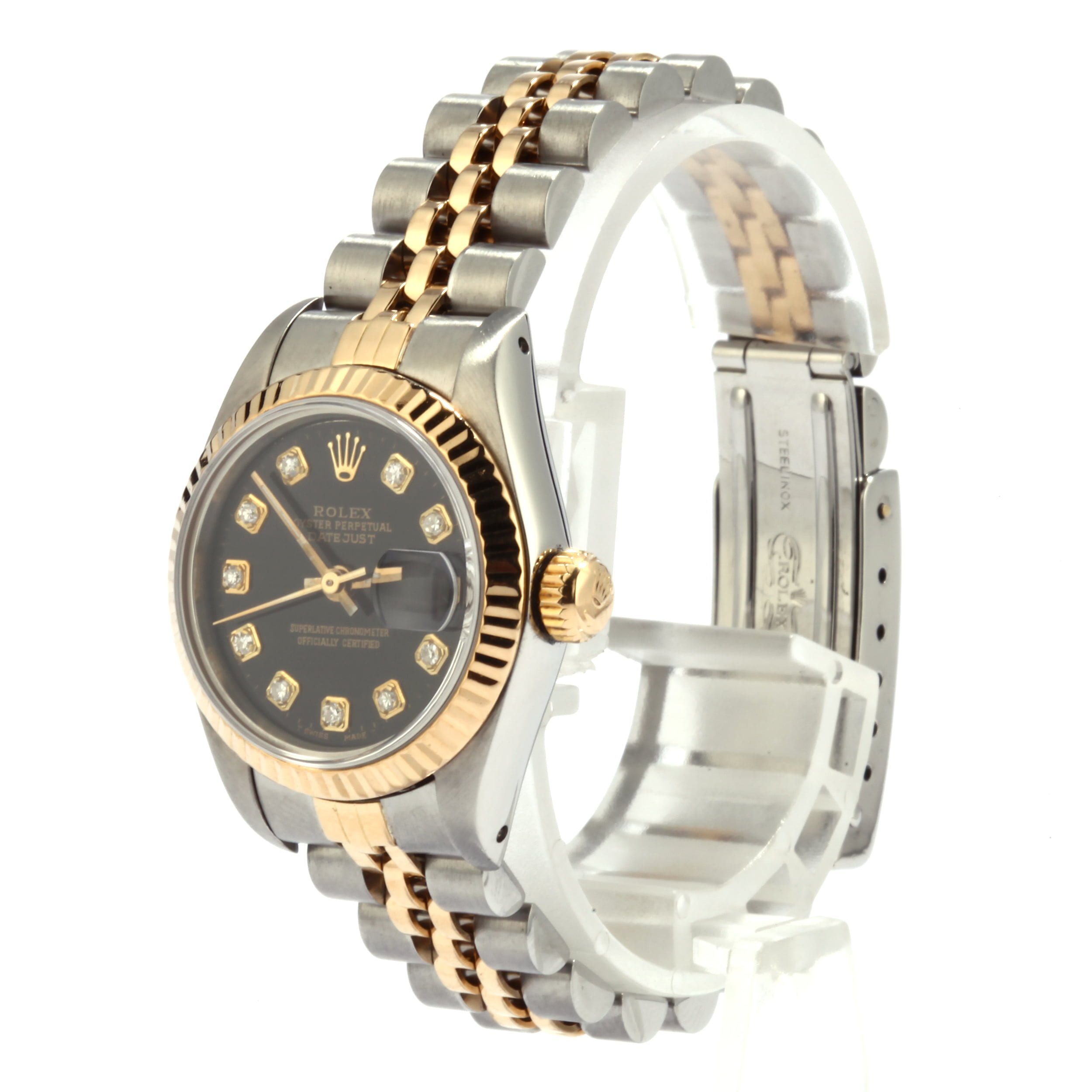 a8222a2ddfa Ladies Rolex DateJust 69173 Diamond Dial - Buy it Now For $3880 at ...