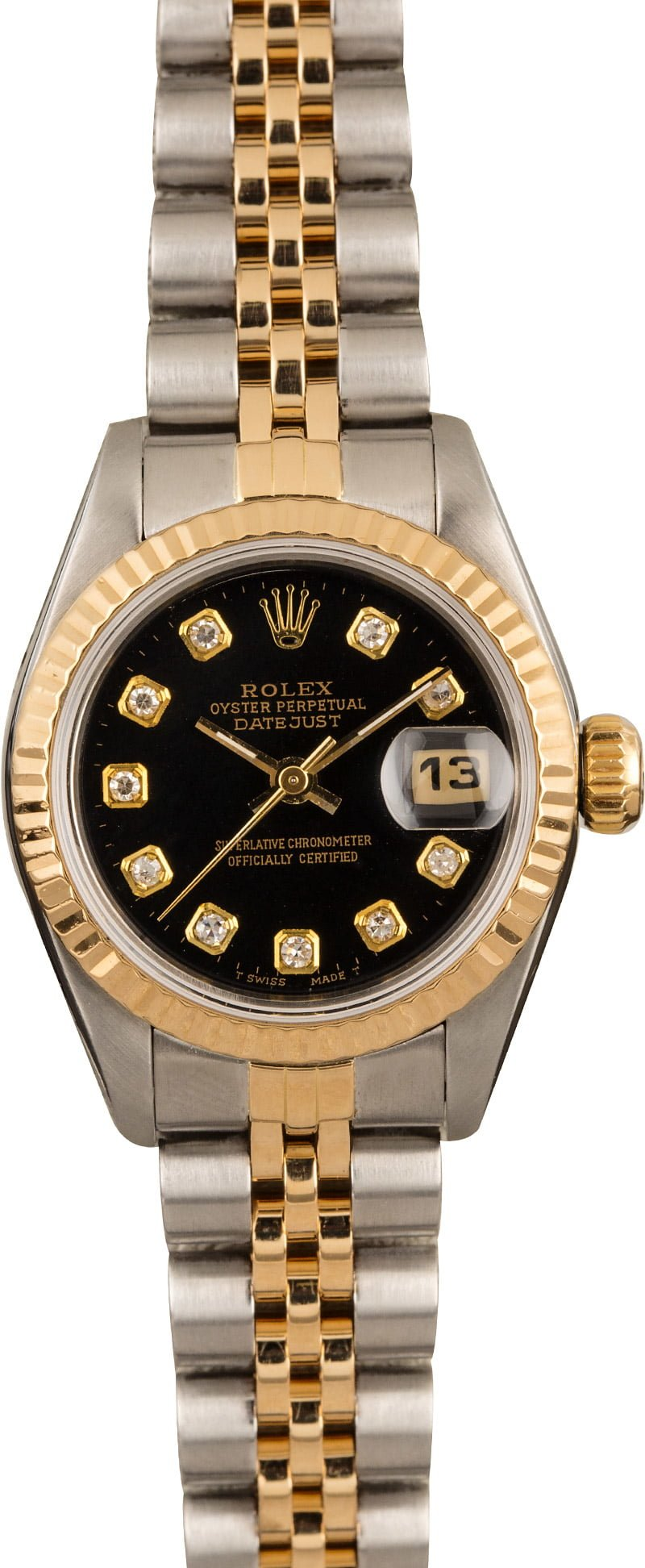 ce8c7ddf71c Ladies Rolex DateJust 69173 Diamond Dial - Buy it Now For $3880 at Bob's  Watches