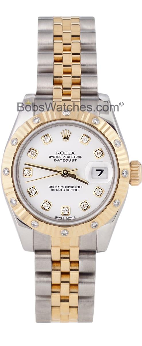 used rolex datejust and bezel