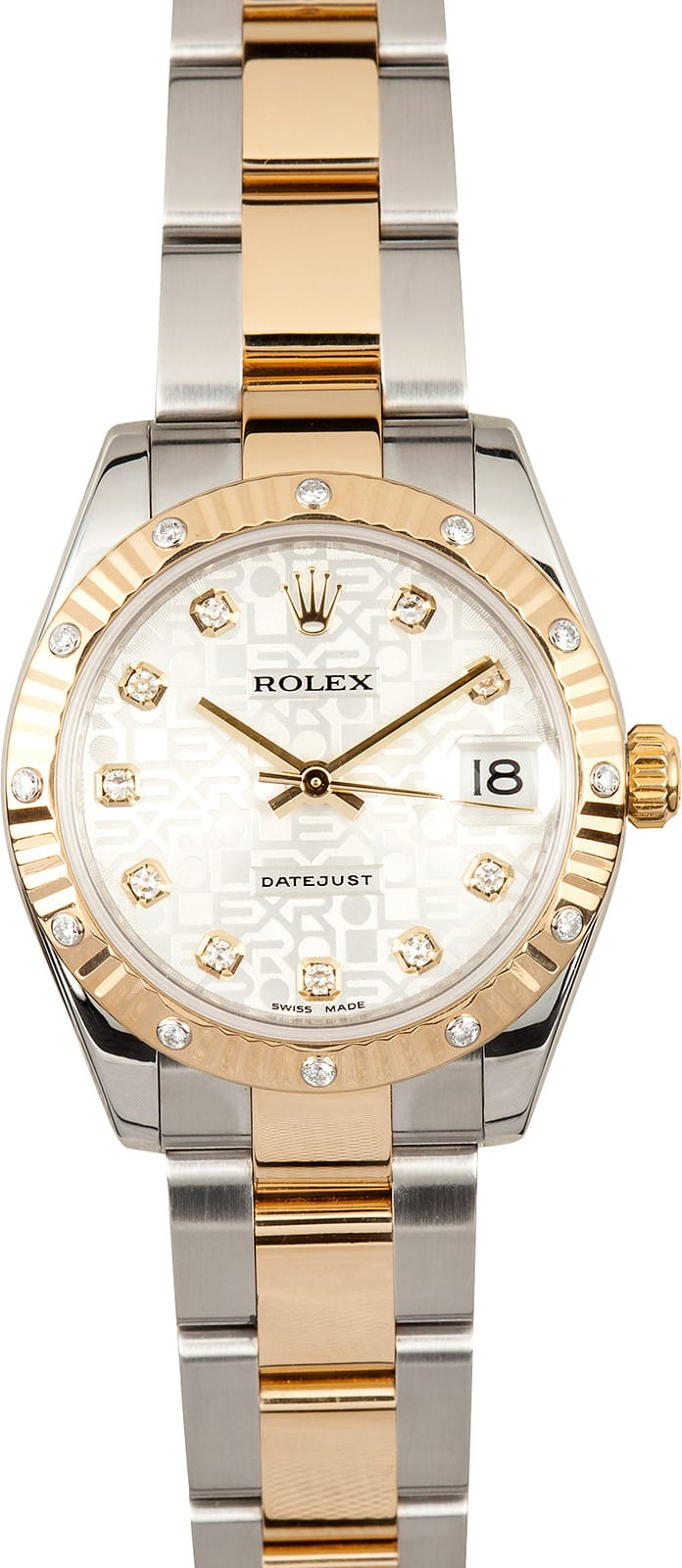 Mid Size Ladies Rolex Datejust 178273 Ships Free Next Day
