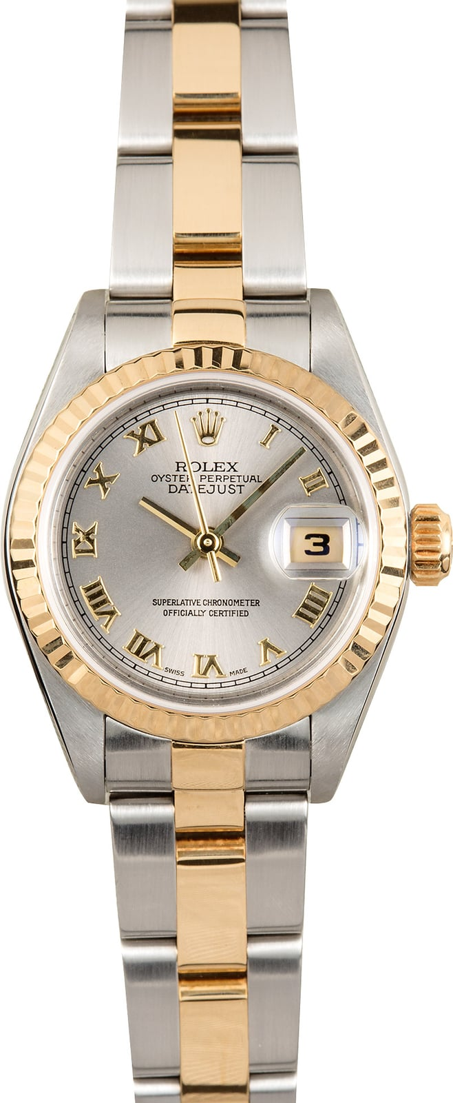pre owned rolex womens datejust
