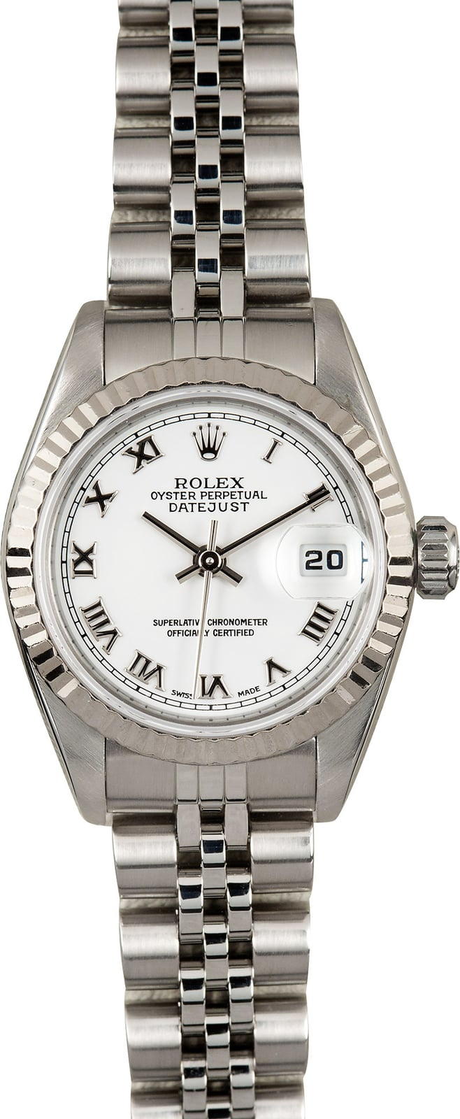 Certified Pre Owned >> Rolex Womens Datejust 79174 Stainless - Certified Pre-Owned