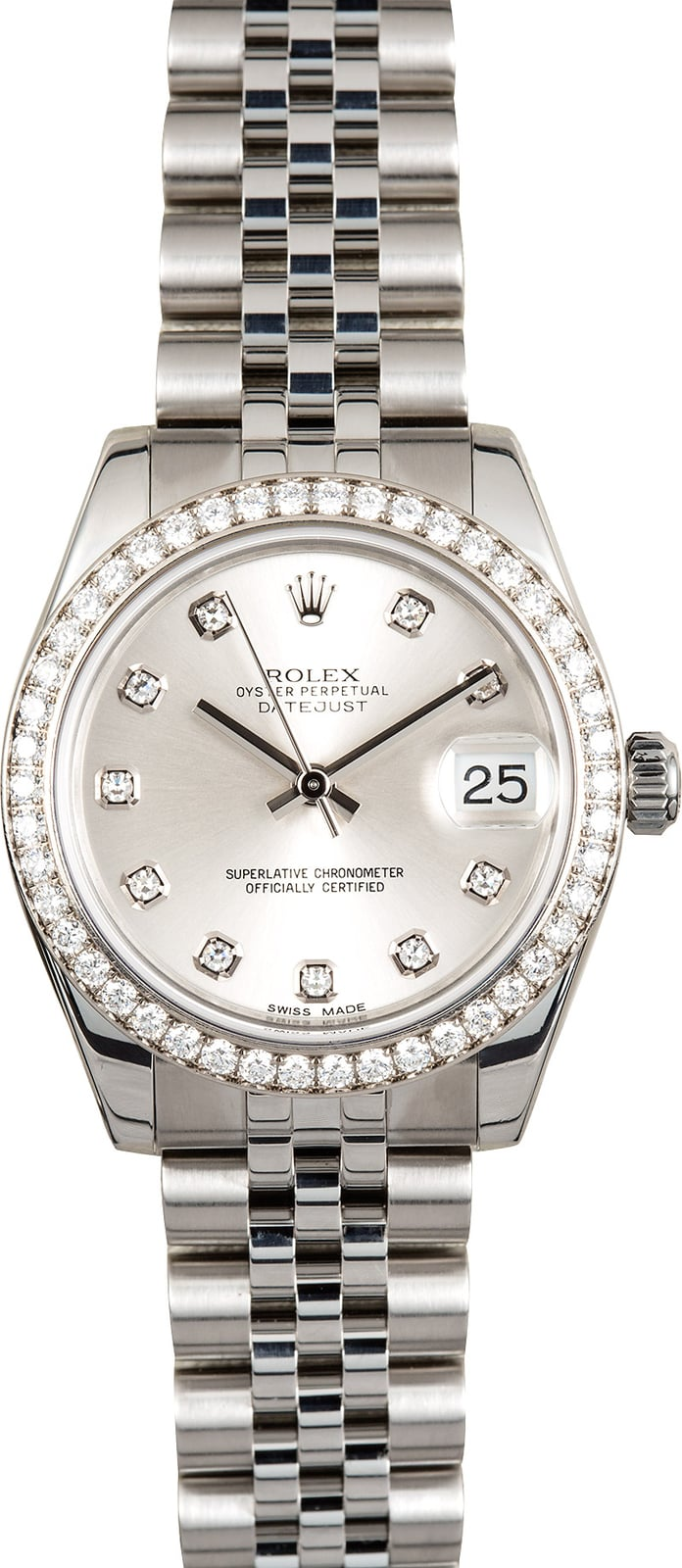 ab6d32e0979 ladies-rolex/rolex-datejust-178384-diamond-bezel-31mm